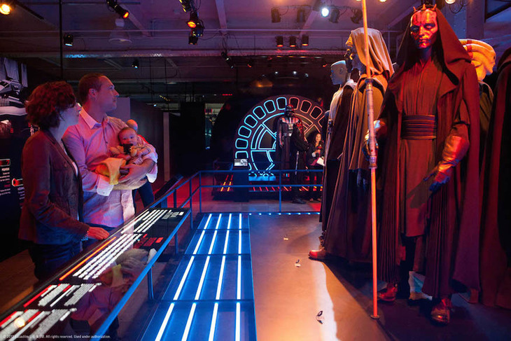Star Wars Props and Costumes Go On Display in London