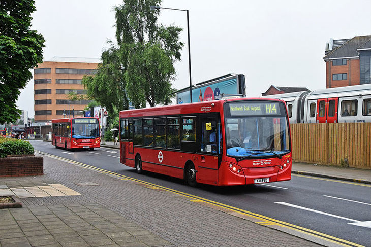 Why three buses always come along at once...