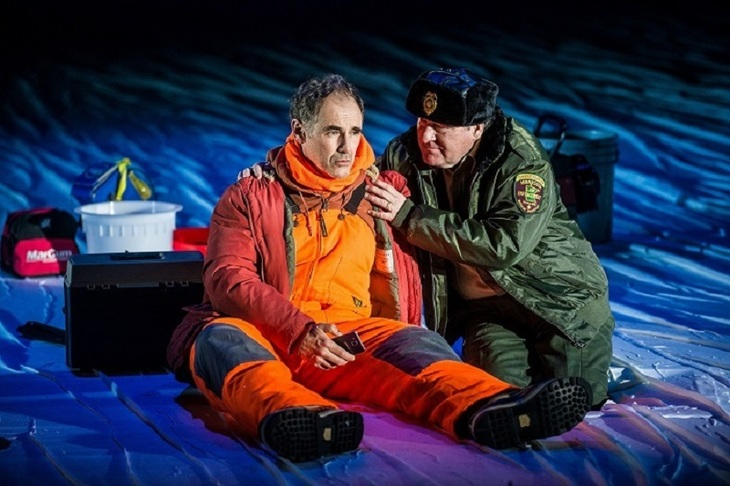 Nice Fish by Mark Rylance and Louis Jenkins opens at the Harold Pinter Theatre from 15 November.