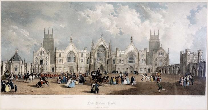 An Alternative London Where Big Ben Was Never Built