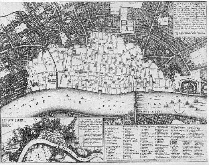 great fire of london death count