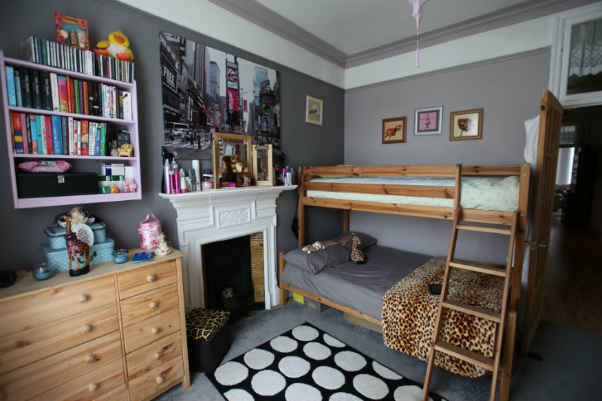 Superior Bedroom Belonging To Shanah Aged 18, North London