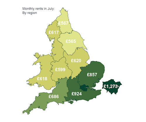 Londoners 'Leaving City To Find Cheaper Rents'