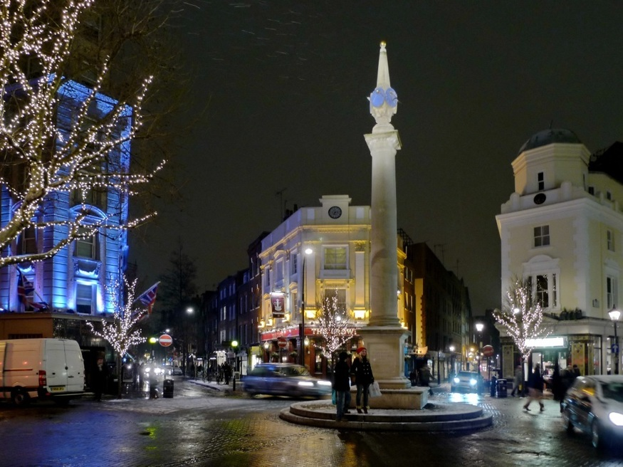 7 secrets of Seven Dials, including how part of it ended up in Surrey
