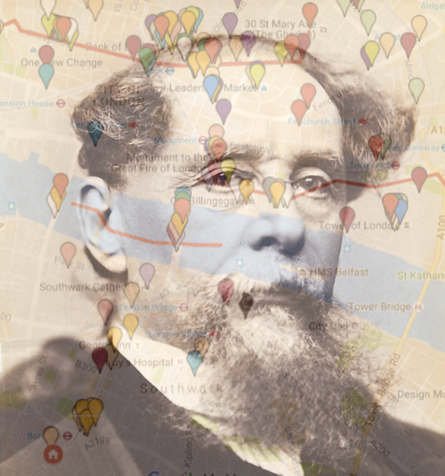 The London Of Charles Dickens: Mapped