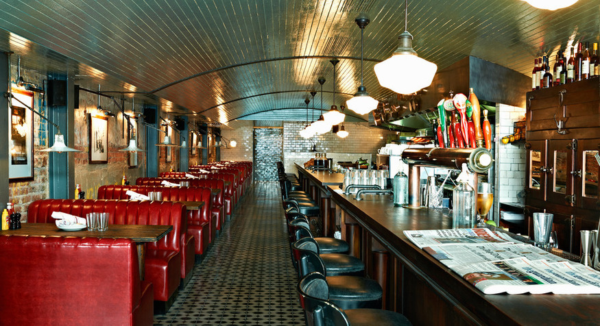 Electric Diner, Portobello. One of London's best American diners