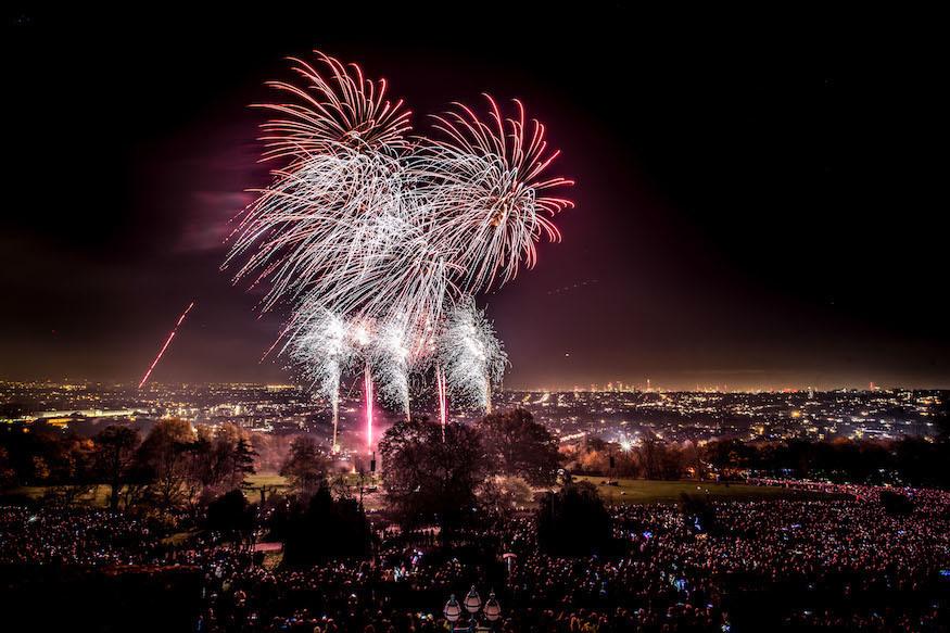 Book Tickets For Alexandra Palace's Bonfire Night Fireworks Extravaganza Now