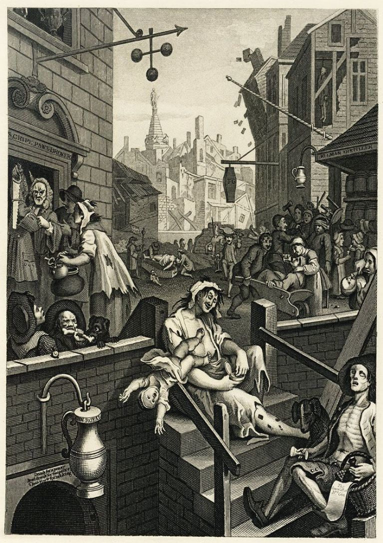 How London Became Hopelessly Hooked On Gin
