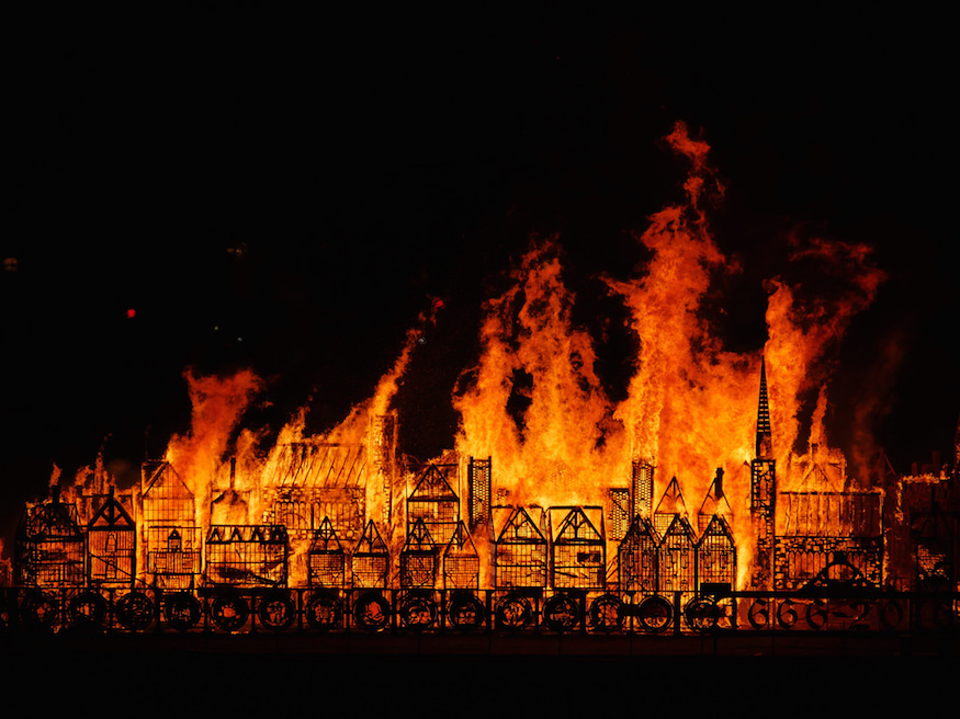 Amazing Pictures From This Weekend's Great Fire Festival