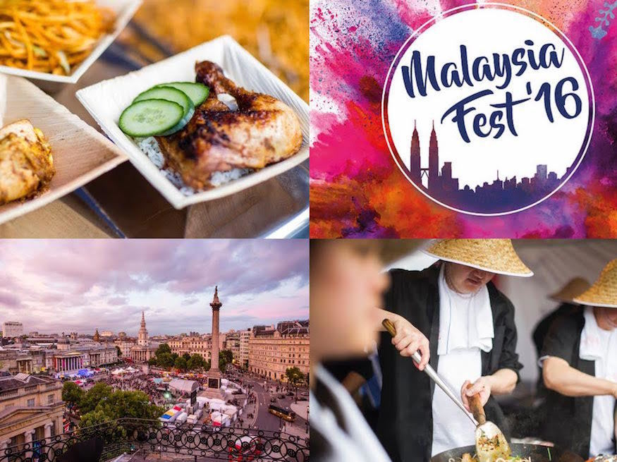 Celebrate All Things Malaysian In Trafalgar Square