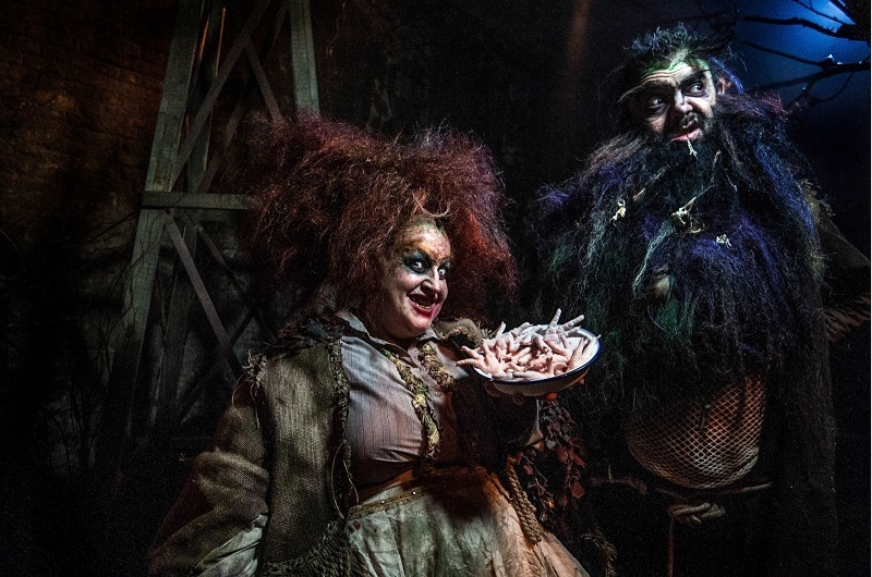 You can meet the Twits at the Vaults until 30 October.