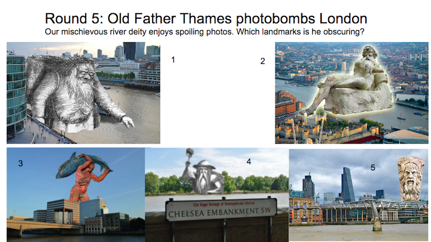 A Quiz Of Thames Trivia