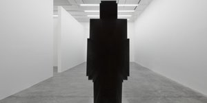 Enter An Antony Gormley Shaped Tunnel