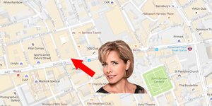 There's A Statue Of Darcey Bussell On Oxford Street