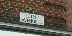 Brixton's Electric Avenue has had a facelift