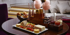 London's Coolest Afternoon Tea