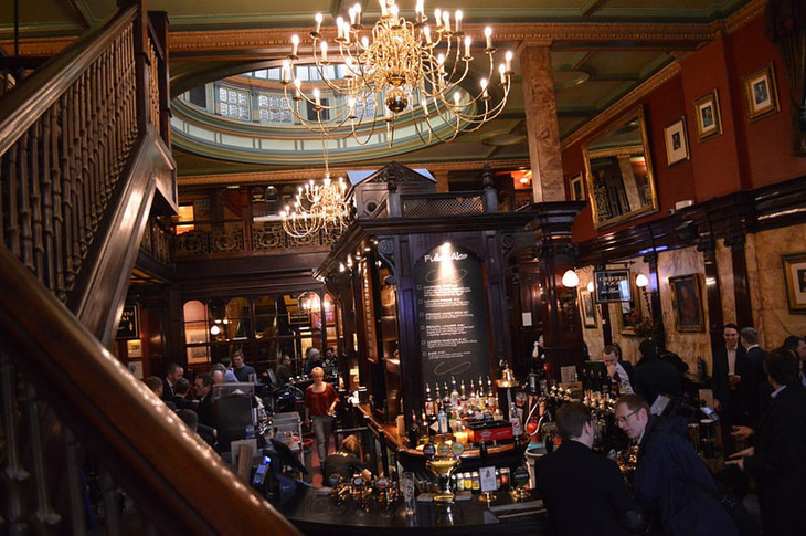 A Bankers' Pub Crawl Of London