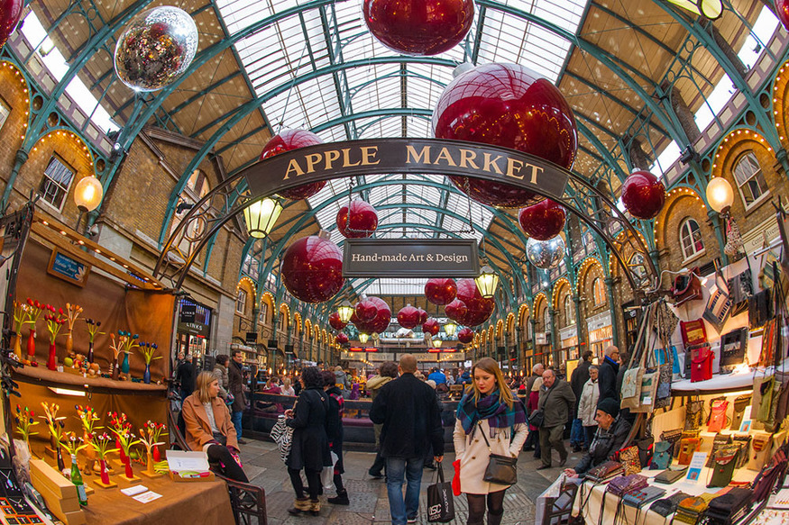 7 Unusual Things To Do In Covent Garden Market