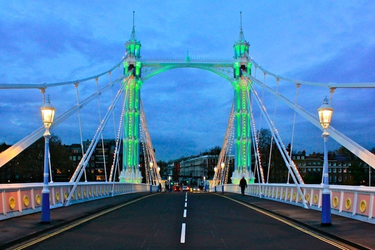 8 Secrets Of The Albert Bridge Londonist