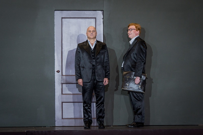 Christopher Purves and Clive Bayley in the ENO's Don Giovanni.