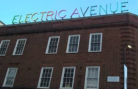 New Electric Avenue Sign Unveiled By Eddy Grant