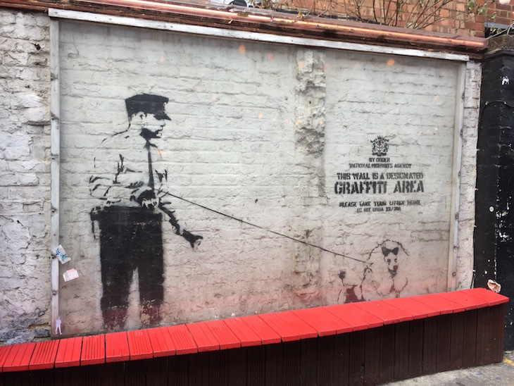 Where Can You Still See Banksy In London?