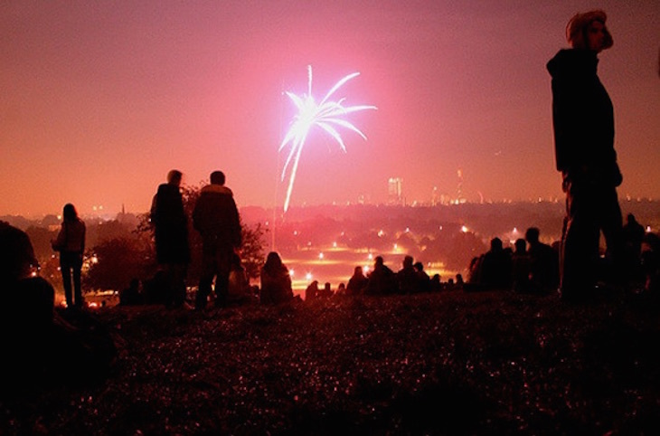 The Best London Vantage Points For Watching Fireworks On Bonfire Night