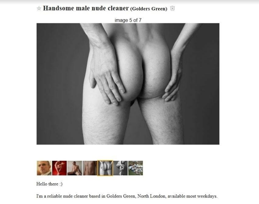 Advertise your service handyman nude