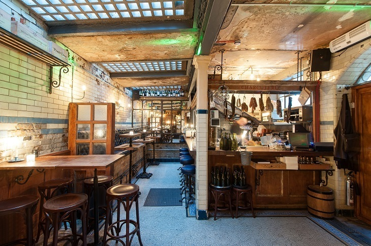 It's underground, it booze-tastic, it's a former toilet. WC in London is one of the city's best cocktail bars