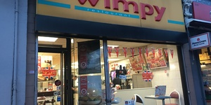 We went to find out who still eats at Wimpy