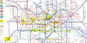 Alternative Reality London, Mapped