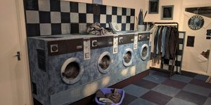 This London Laundrette Is Made Entirely Out Of Denim