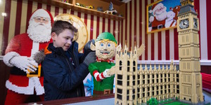 See Santa's Workshop Made From 700,000 Lego Bricks