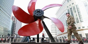 There's A Remembrance Day Art Trail In Canary Wharf