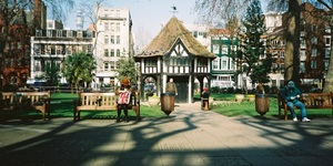What's Actually In The Hut In Soho Square?