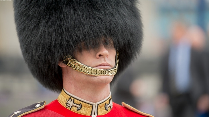 Do The Buckingham Palace Guards Wear Real Bearskin Hats?