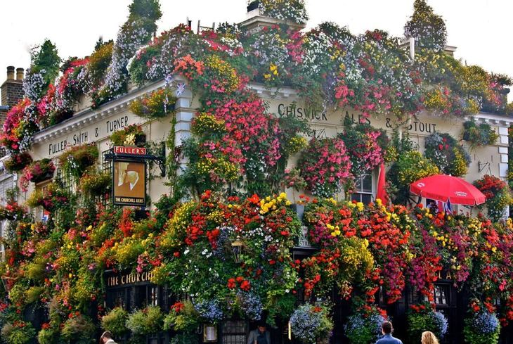 How Much Does The Churchill Arms Spend On Flowers?