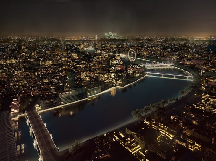 Central London Bridges To be Transformed At Night