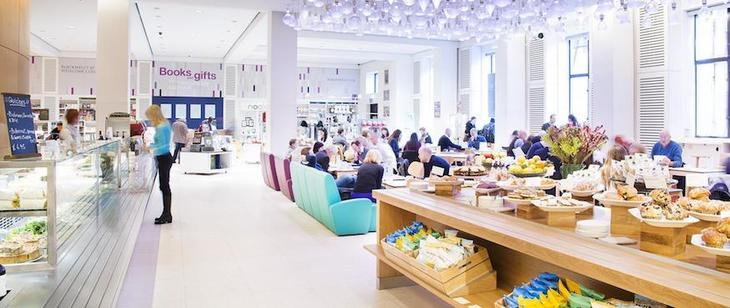 Whether you're after good value or something a bit different, try London's best museum cafes