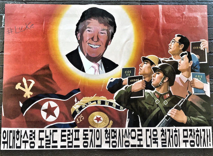 Donald Trump: the best street art from London