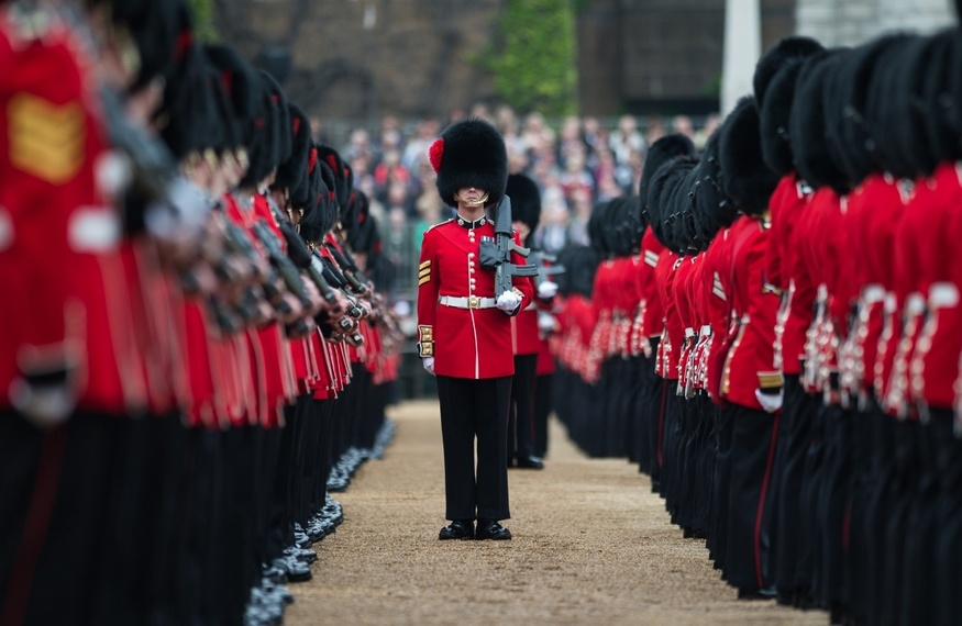 What Is A 'Bearskin' And Do London's Soldiers Really Still Wear Them?