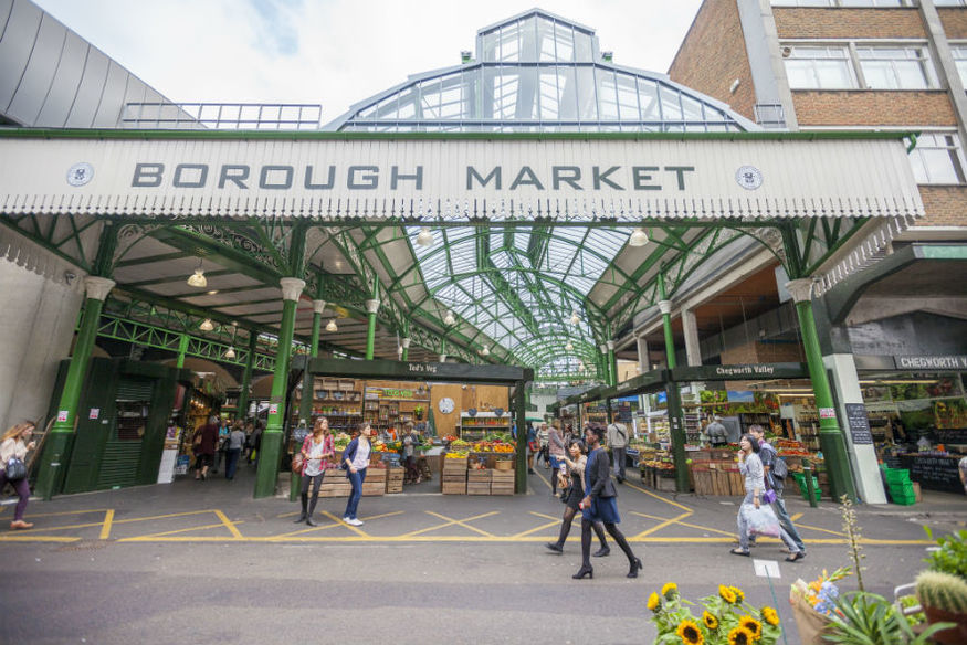 Where's The Best Food In Borough Market?