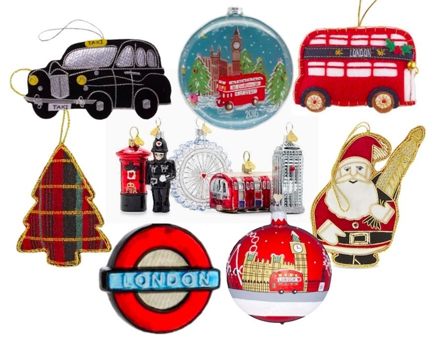 weve trawled the vast and sometimes bemusing array of london themed christmas decorations out there this year and heres our pick of the absolute best - London Christmas Decorations