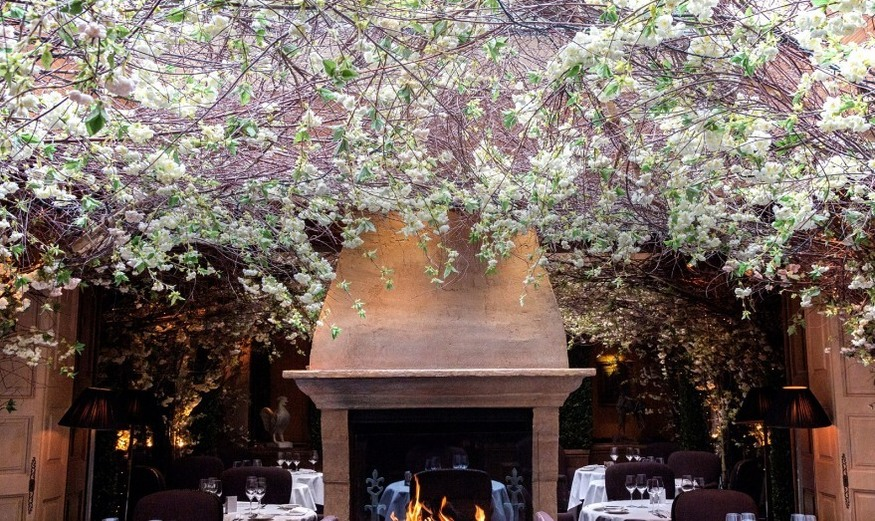 Are these london 39 s most beautiful restaurants londonist for The garden room 11 cavendish square