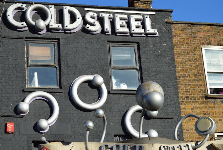 The Giant Signs Of Camden Town