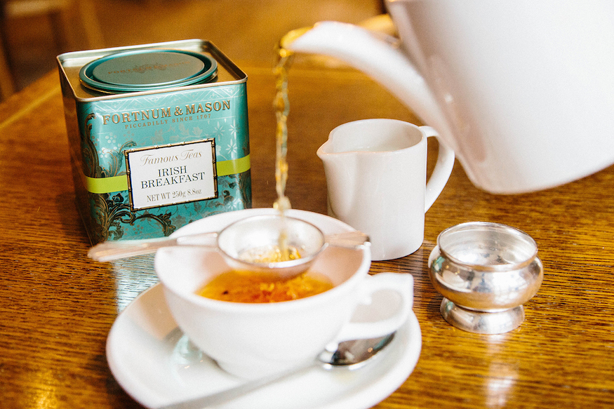 Fortnum & Mason tea bar: one of the best places to drink tea in London