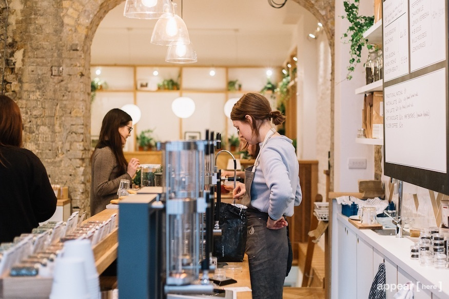 Good & Proper tea bar: best places to drink tea in London