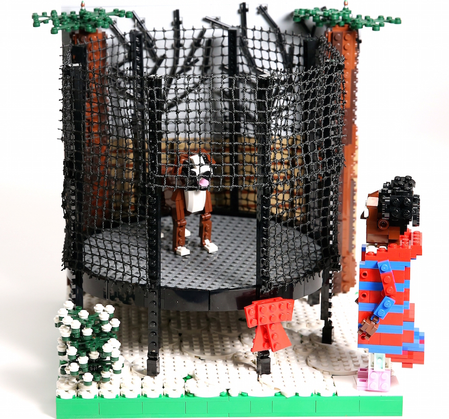 see john lewis christmas adverts recreated in 10 000 lego. Black Bedroom Furniture Sets. Home Design Ideas