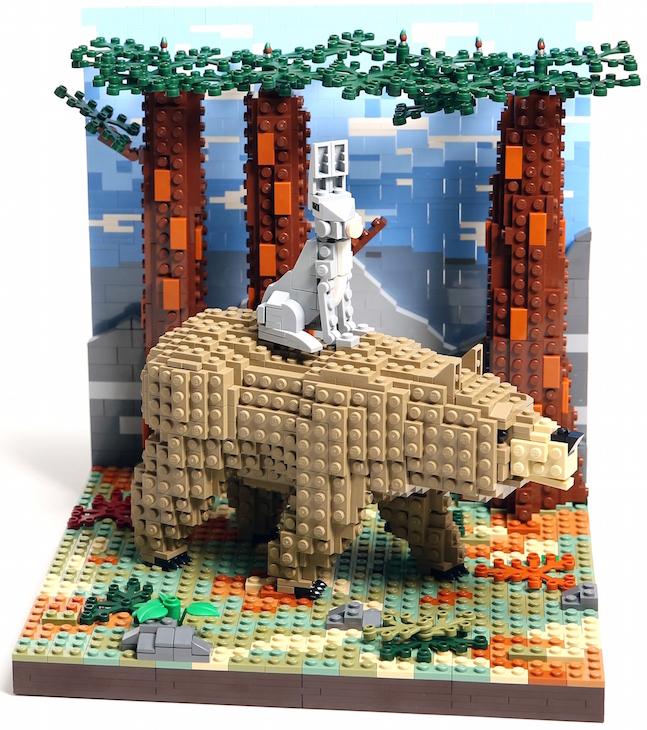 A Lego Take On The John Lewis Christmas Adverts