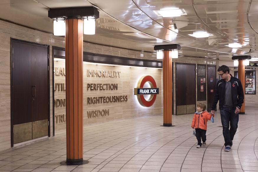 Seen This Piccadilly Circus Station Artwork?